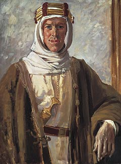 Lawrence of Arabia 1919 Painting by Augustus John